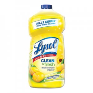 LYSOL Brand RAC78626EA Clean and Fresh Multi-Surface Cleaner, Sparkling Lemon and Sunflower Essence Scent, 40 oz Bottle