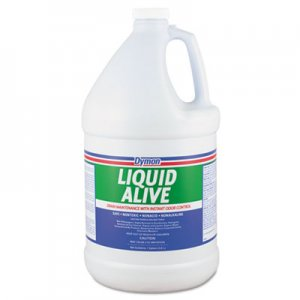 Dymon ITW23301 LIQUID ALIVE Enzyme Producing Bacteria, 1gal, Bottle, 4/Carton