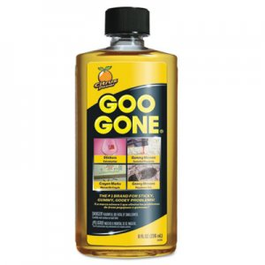 Goo Gone 2087 Original Cleaner, Citrus Scent, 8 oz Bottle, 12/Carton