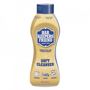 Bar Keepers Friend BKF11624 Soft Cleanser, 26 oz Squeeze Bottle, Citrus, 6/Carton