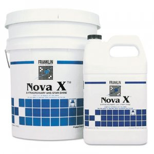 Franklin Cleaning Technology FKLF465222 Nova X Extraordinary UHS Star-Shine Floor Finish, Liquid, 1 gal. Bottle