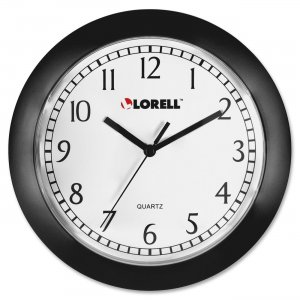 Lorell 60987 Round Profile Wall Clock