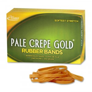 Pale Crepe Gold 20185 Rubber Band
