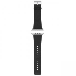 Cygnett CY1814AWLUX Luxband Leather Apple Watch Band - Black