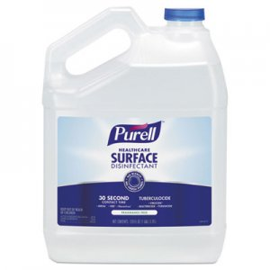 PURELL GOJ434004EA Healthcare Surface Disinfectant, Fragrance Free, 1 gal Bottle