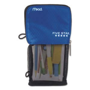 Five Star MEA50516CB8 Stand 'N Store Pencil Pouch, 4 1/2 x 8, Cobalt