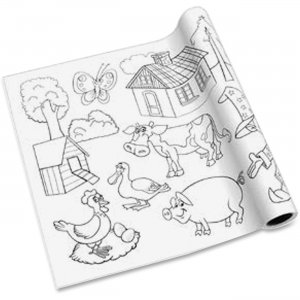 Redi-Tag 10230 Self-adhesive Kid's Coloring Pages