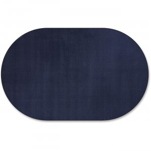 Flagship Carpets AS45NV Classic Solid Color 12' Oval Rug