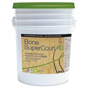 Bona BNAWT762055008 SuperCourt HD Floor Finish, 5 gal