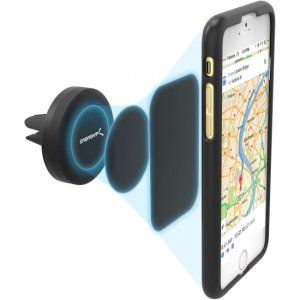 Sabrent CM-MGHB-PK100 Air Vent Magnetic Universal Car Mount Holder for Most Smartphones Devices