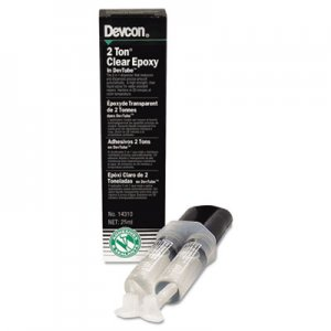 Devcon DVC14310 2 Ton Clear Epoxy, 0.85 oz, Dries White