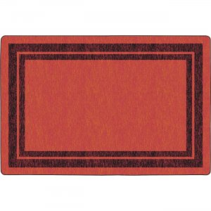 Flagship Carpets FE42444A Double Dark Tone Border Red Rug