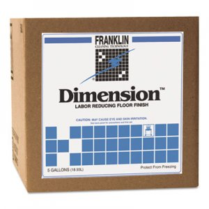 Franklin Cleaning Technology FKLF330225 Dimension Labor Reducing Floor Finish, 5gal Cube