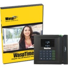 Wasp 633808551162 WaspTime v7 Enterprise w/Barcode Clock
