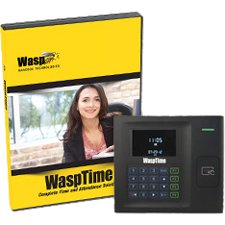 Wasp 633808551384 WaspTime v7 Professional w/HID Time Clock