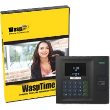 Wasp 633808551391 WaspTime v7 Enterprise w/HID Time Clock