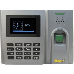 Wasp 633808551438 WaspTime B2000 Biometric Time Clock