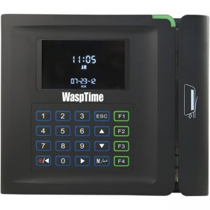 Wasp 633808551407 WaspTime BC100 Barcode Time Clock