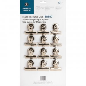 Business Source 58507 Magnetic Grip Clips Pack