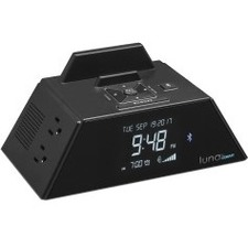 Conair WCR450 Alarm Clock Charging Station with Bluetooth