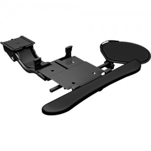 Chief KBD-S2S-19C Sit-to-Stand Arm, Keyboard Clamp with Tilt/Swivel Mouse Tray