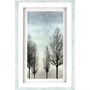 Lorell 04498 Naked Tree Shadow Box Design Framed Art