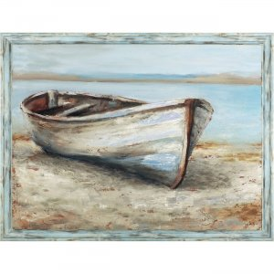 Lorell 04484 The Boat Framed Canvas Art