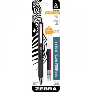 Zebra Pen 40111 0.7mm Retractable Gel Pen