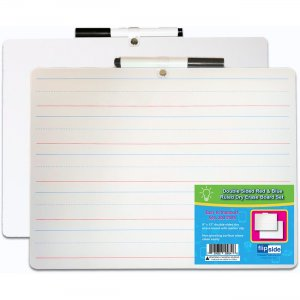 Flipside 19134 2-sided Dry Erase Board Sets