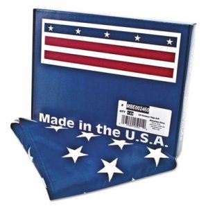Advantus AVTMBE002460 All-Weather Outdoor U.S. Flag, Heavyweight Nylon, 3 ft x 5 ft